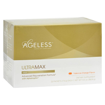 Ageless Foundation - UltraMAX Gold with Alphatrophin Valencia Orange - 22 Packets
