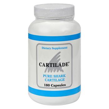Cartilade Pure Shark Cartilage - 180 Capsules