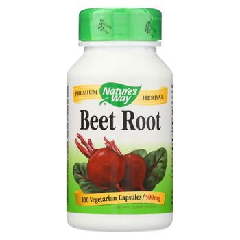 Nature's Way - Beet Root - Beta Vulgaris - 100 Capsules