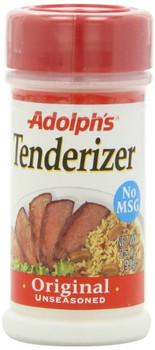 Adolphs Meat Tenderizer - Unseasoned - Case of 12 - 3.5 fl oz