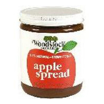 Woodstock Orchards Unsweetened Apple Butter - Case of 12 - 17 oz.