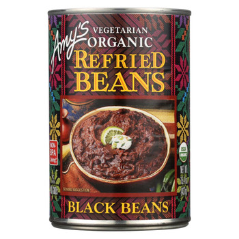 Amy's Organic Refried Black Beans - 15.4 oz.