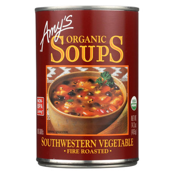 Amy's Organic Fire Roasted Southwestern Vegetable Soup - 14.3 oz