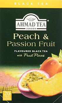 Ahmad - Tea - Black - Peach Passion Fruit - Case of 6 - 20 count