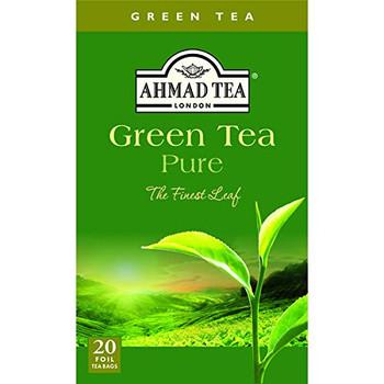 Ahmad - Tea - Green - Case of 6 - 20 count