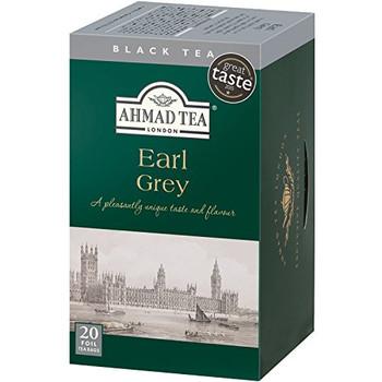 Ahmad - Tea - Earl Grey - Case of 6 - 20 count