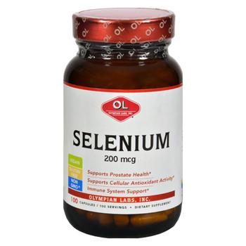 Olympian Labs Selenium - 200 mcg - 100 Capsules