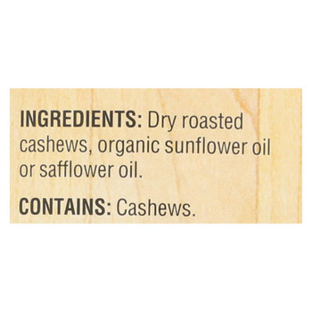 Woodstock Cashew Butter - Unsalted - 16 oz.