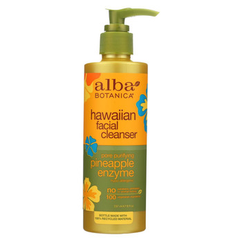 Alba Botanica - Enzyme Facial Cleanser Pineapple - 8 fl oz