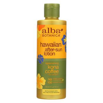 Alba Botanica Hawaiian Kona Coffee After-Sun Lotion - 8.5 fl oz