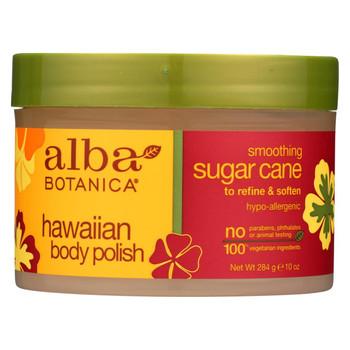 Alba Botanica - Hawaiian Body Polish Sugar Cane - 10 oz