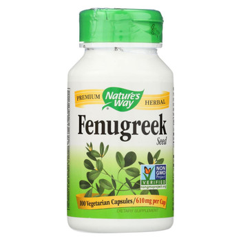 Nature's Way - Fenugreek Seed - 100 Capsules