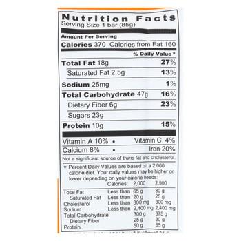 Probar Organic Superfood Slam Bar - Case of 12 - 3 oz