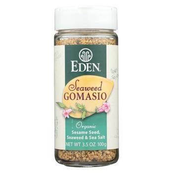Eden Foods Organic Gomasio - Sesame Salt - Seaweed - 3.5 oz