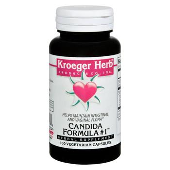 Kroeger Herb Candida Formula # 1 - 100 Capsules