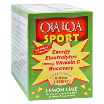 Ola Loa Sport Lemon Lime - 30 Packets