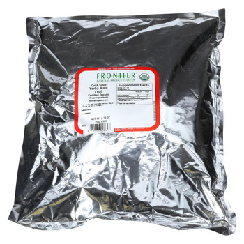 Frontier Herb Yerba Mate Leaf - Organic - Cut and Sifted - Bulk - 1 lb
