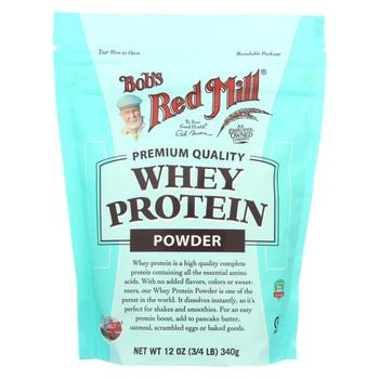 Bob's Red Mill Whey Protein Powder - 12 oz - Case of 4