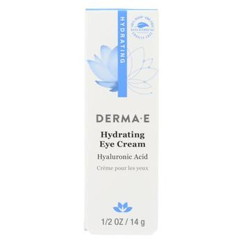 Derma E Eye Creme Hyaluronic and Pycnogenol - 0.5 oz