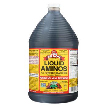 Bragg Liquid Aminos - 128 oz - case of 4
