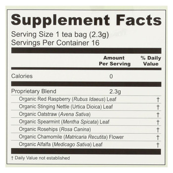 Earth Mama - Baby Third Trimester Tea - 16 Tea Bags