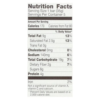 Cascadian Farm Sweet and Salty Bar - Organic - Peanut Pretzel - 6.2 oz - case of 12
