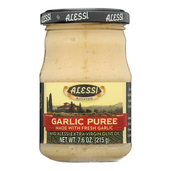 Alessi - Puree - Garlic - Case of 6 - 7.6 oz