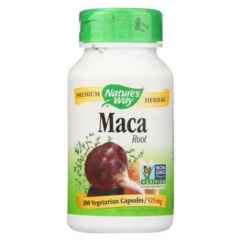 Nature's Way - Maca Root - 100 Capsules