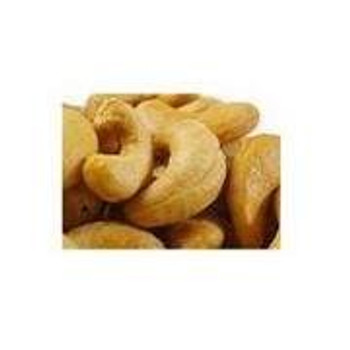 Bulk Nuts - Extra Large Roasted Cashews - No Salt - 25 lb.