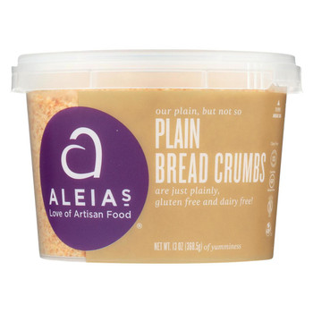 Aleia's - Gluten Free Bread Crumbs - Case of 12 - 13 oz.