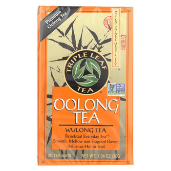 Triple Leaf Tea Oolong - Case of 6 - 20 Bags