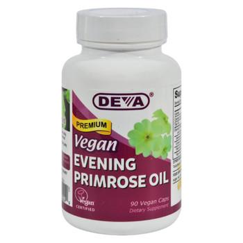 Deva Vegan Vitamins - Evening Primrose Oil - 90 Vegan Capsules