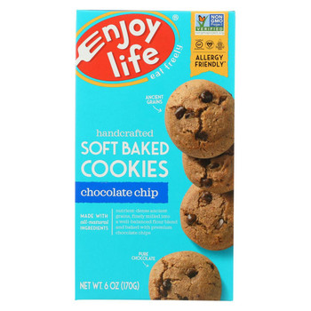 Enjoy Life - Cookie - Soft Baked - Chocolate Chip - Gluten Free - 6 oz - case of 6