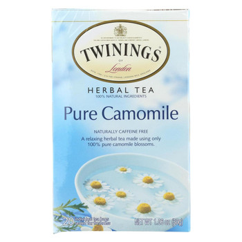 Twining's Tea Jacksons of Piccadilly Tea - Pure Chamomile - Case of 6 - 20 Bags