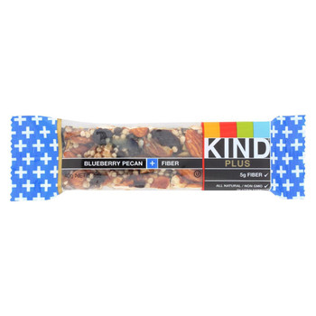 Kind Bar - Blueberry Pecan Plus Fiber - Case of 12 - 1.4 oz