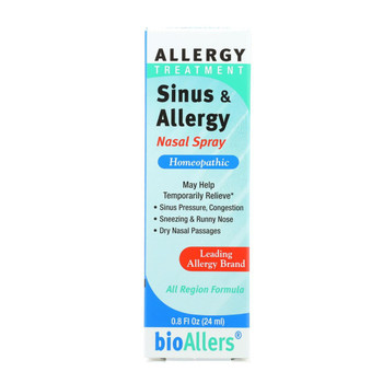 Bio-Allers Sinus and Allergy Relief Nasal Spray - 0.8 fl oz