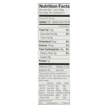 Enjoy Life - Snack Bar - Caramel Apple - Gluten Free - 5 oz - case of 6
