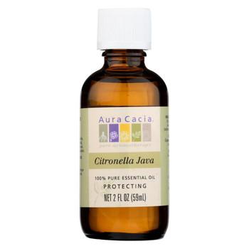 Aura Cacia - Citronella Java Pure Essential Oil - 2 fl oz