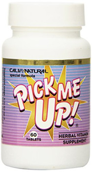 California Natural Pick Me Up Vitamin - 60 Capsules
