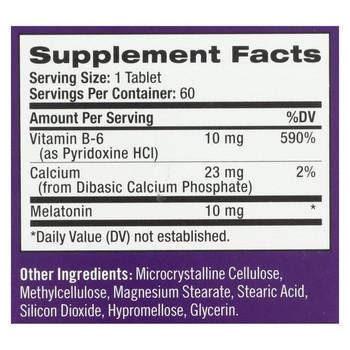 Natrol Advanced Sleep Melatonin - 10 mg - 60 Tablets