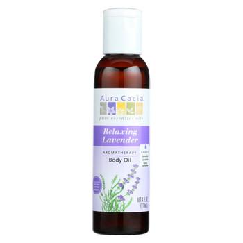 Aura Cacia - Aromatherapy Body Oil Lavender Harvest - 4 fl oz