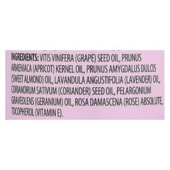 Aura Cacia - Aromatherapy Body Oil Comforting Geranium - 4 fl oz