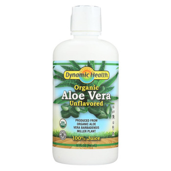 Dynamic Health Organic Aloe Vera Juice - 32 fl oz