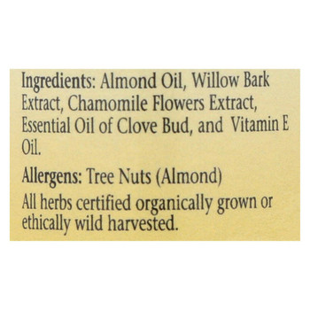 Herbs For Kids Gum-omile Oil - 1 fl oz