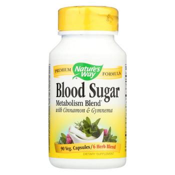 Nature's Way Blood Sugar with Gymnema - 90 Capsules