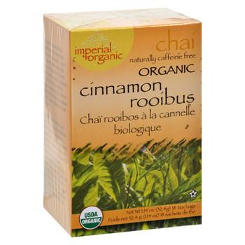 Uncle Lee's Imperial Organic Cinnamon Rooibus Chai Tea - 18 Tea Bags