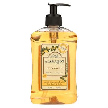 A La Maison French Liquid Soap - Honeysuckle - 16.9 oz