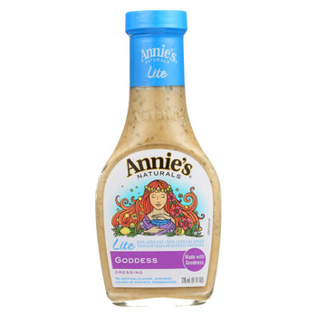 Annie's Naturals Lite Dressing Goddess - Case of 6 - 8 fl oz.