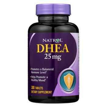 Natrol DHEA - 25 mg - 300 Tablets