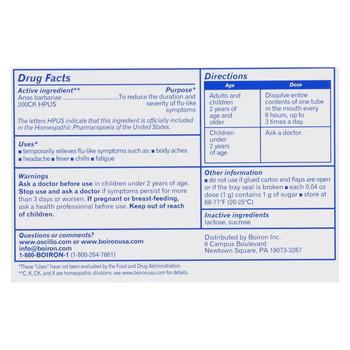 Boiron - Oscillococcinum - 6 Doses